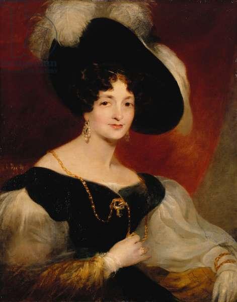 Victoria, Duchess of Kent, c.1832 (oil on canvas)