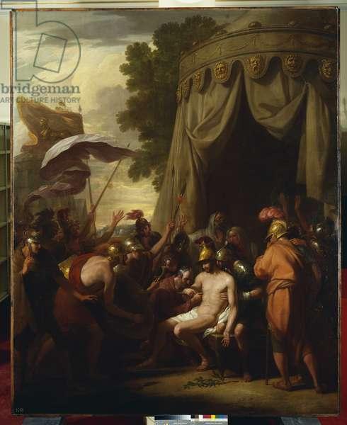The Death of Epaminondas, 1773 (oil on canvas)