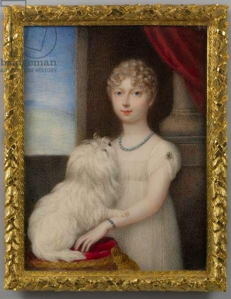Princess Charlotte, 1807 (w/c on ivory)