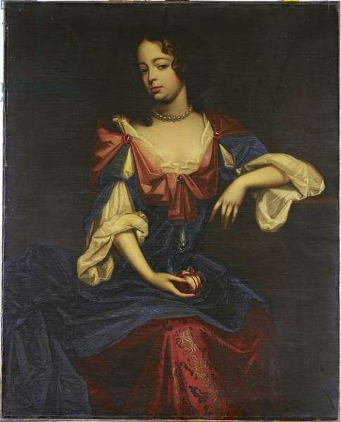 Louise Renée de Penancoet de Kérouaille, Duchess of Portsmouth and Aubigny, c.1670-72 (oil on canvas)