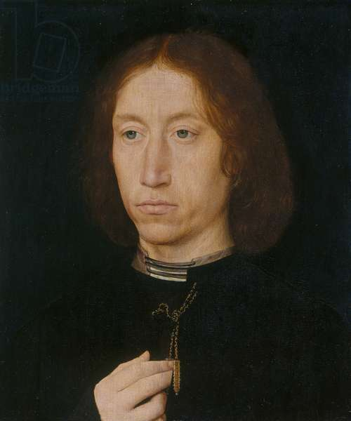 Portrait of a man, c.1475-80 (oil on panel)