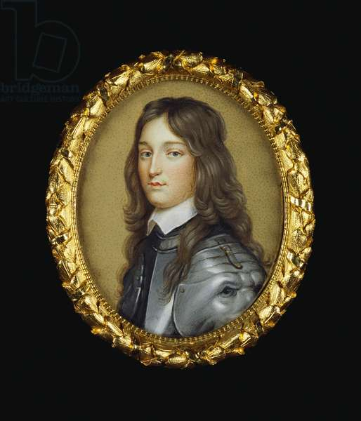 Portrait of a man, called Henry Frederick, Prince Palatine (w/c on vellum laid on card)
