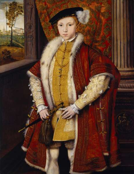 Edward VI, c.1546 (oil on panel)