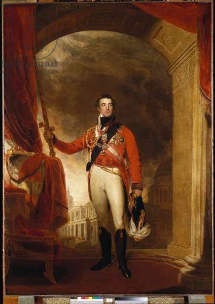 Arthur Wellesley, 1st Duke of Wellington, 1815 (oil on canvas)
