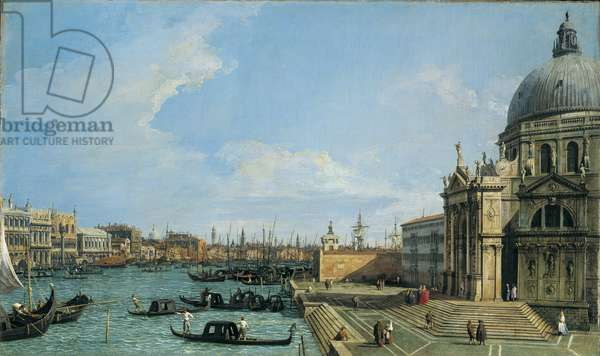 The Grand Canal looking towards the Riva degli Schiavoni, c.1729-30 (oil on canvas)