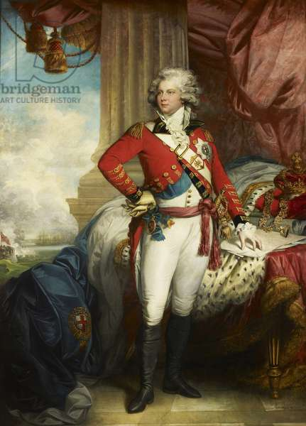 George, Prince of Wales, later George IV, c.1789 (oil on canvas)