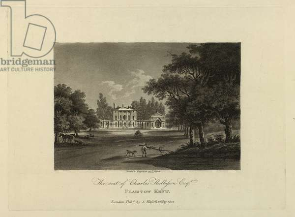 Plaistow, Kent. The Seat of Charles Thellusson, Esq., 1804 (aquatint)