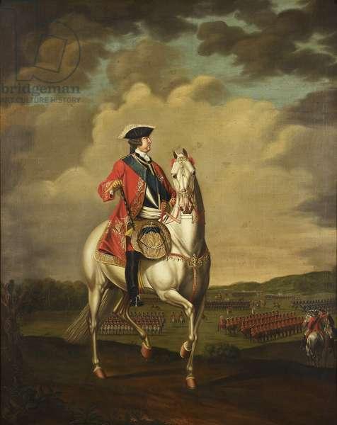 George II, c.1740-1816 (oil on canvas)