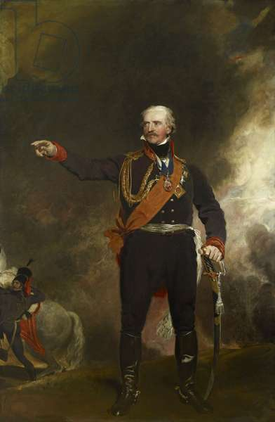 Field-Marshal Gebhardt von Blucher, 1814 (oil on canvas)