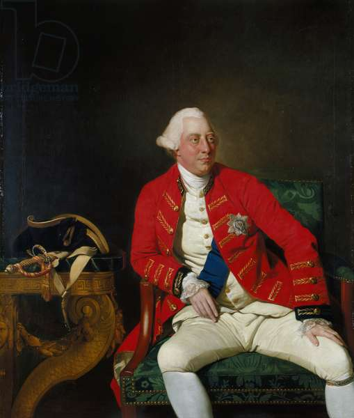 George III, 1771 (oil on canvas)