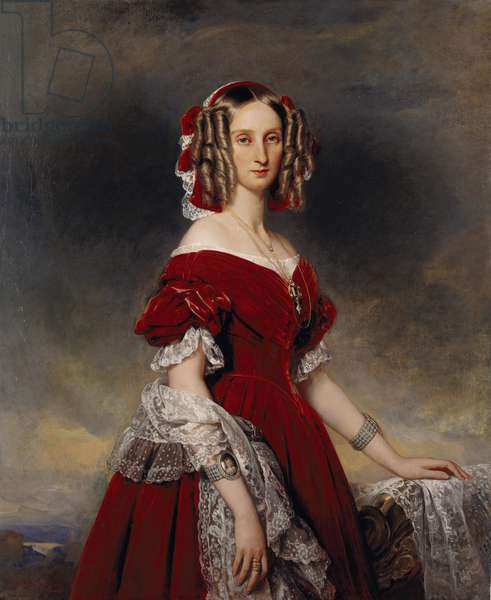 Louise, Queen of the Belgians, 1841 (oil on canvas)