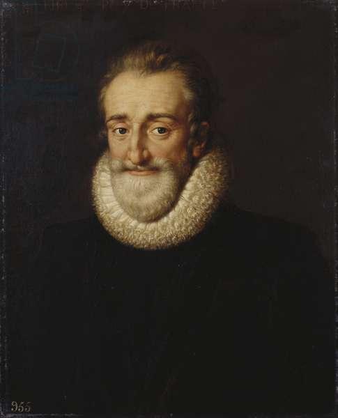 Henri IV, King of France, 1610 (oil on canvas)