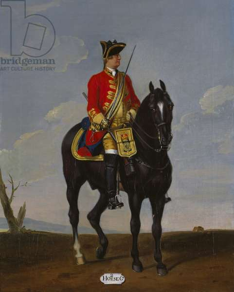 Private, 2nd Troop of Horse Guards, 1751 (oil on canvas)