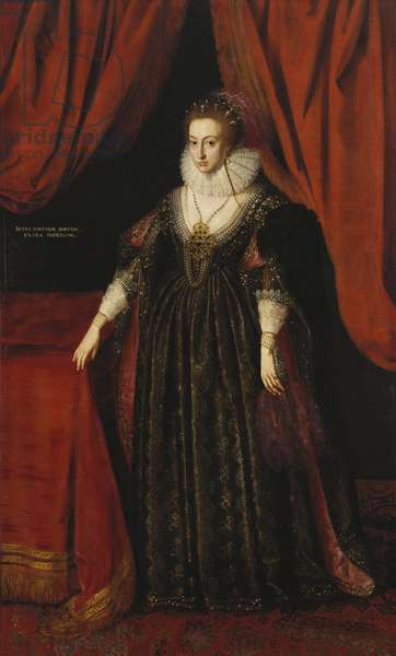 Elizabeth, Queen of Bohemia, 1637 (oil on canvas)