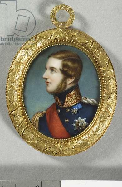 George V, King of Hanover (1819-1878) 1846 (enamel on gold)