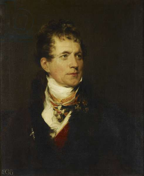 Frederick, Baron von Gentz, 1818-19 (oil on canvas)
