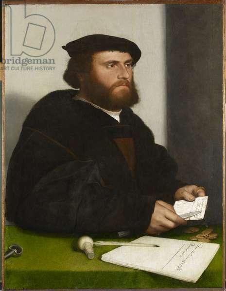 A merchant of the German steelyard, 'Hans of Antwerp', c.1532-33 (oil on panel)