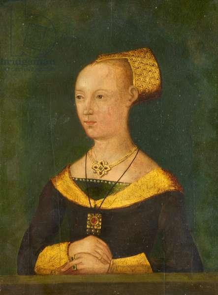 Elizabeth Woodville, 1510 (oil on panel)