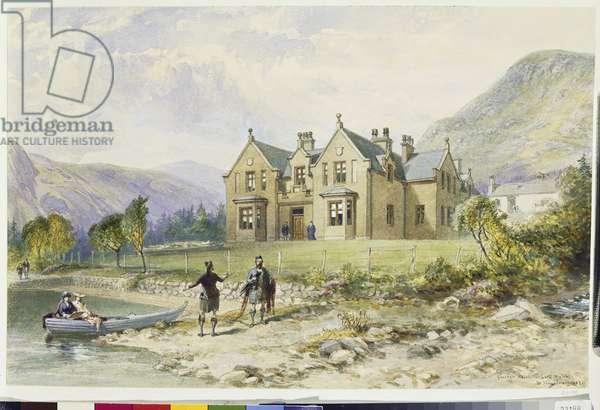 The Glasallt Shiel, 1882 (w/c on paper)