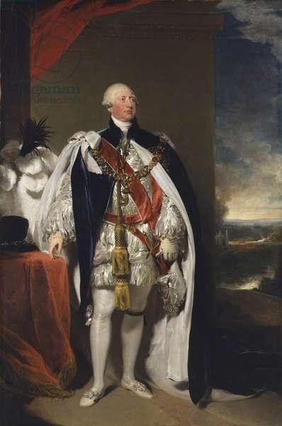 George III, 1809 (oil on canvas)