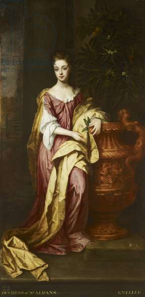 Diana De Vere, Duchess of St. Albans, 1691 (oil on canvas)