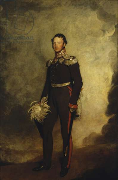 Frederick William III, King of Prussia, 1814-18 (oil on canvas)