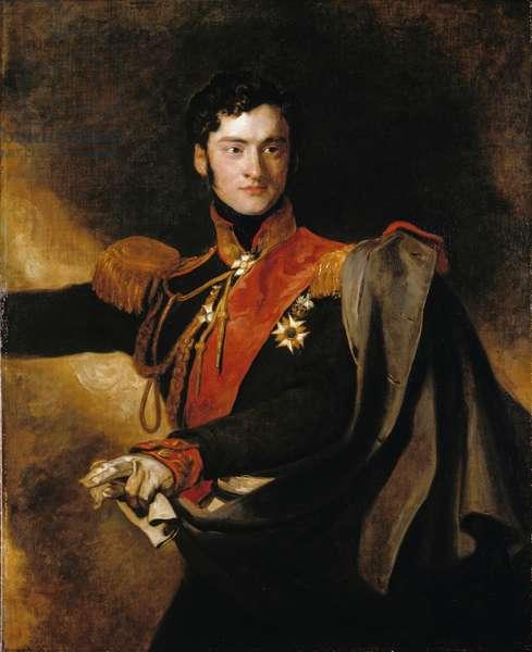 Alexander Ivanovitch, Prince Chernichev, 1818 (oil on canvas)