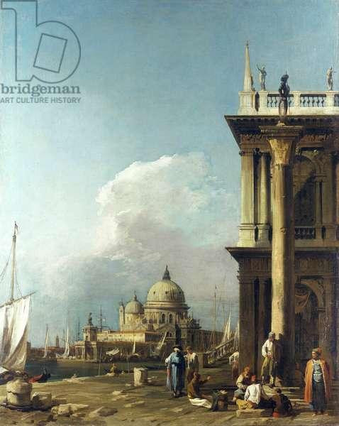 Venice: The Piazzetta towards Santa Maria della Salute, c.1724 (oil on canvas)