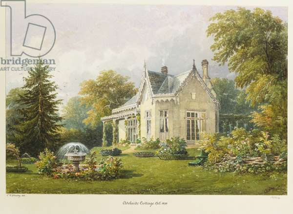 Adelaide Cottage, Windsor Home Park, October 1839 (w/c with gouache on paper)
