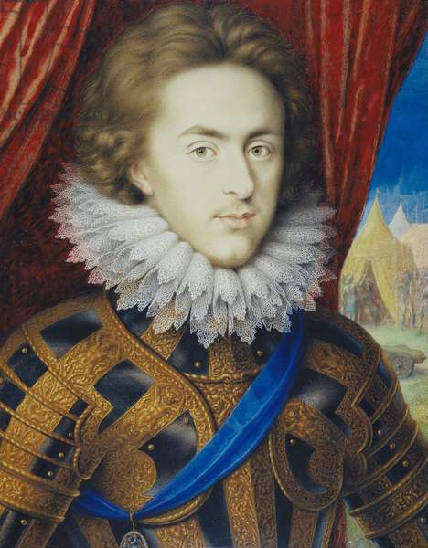Henry Frederick, Prince of Wales, c.1612 (w/c on vellum laid on card)