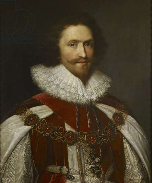 George Villiers, First Duke of Buckingham, c.1620-99 (oil on canvas)