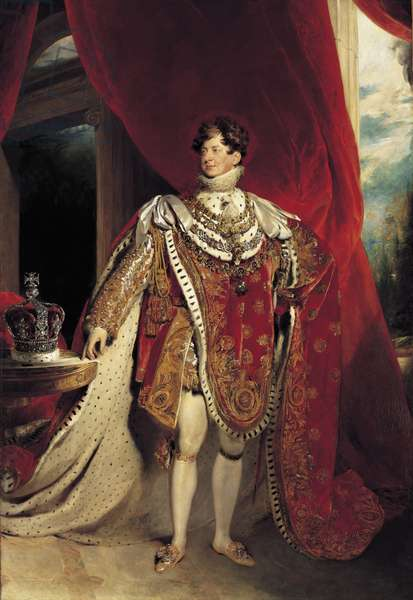 George IV, 1821 (oil on canvas)