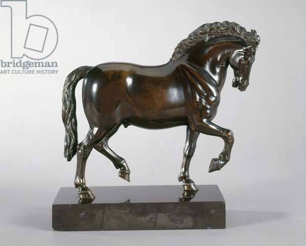 Trotting horse, 1600 (bronze)
