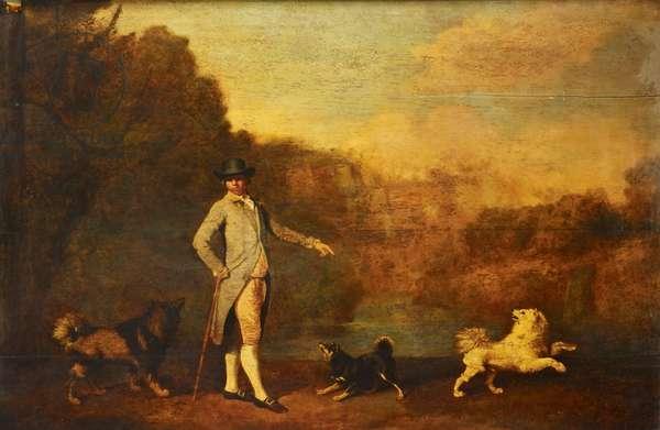 John Christian Santhague, 1782 (oil on panel)