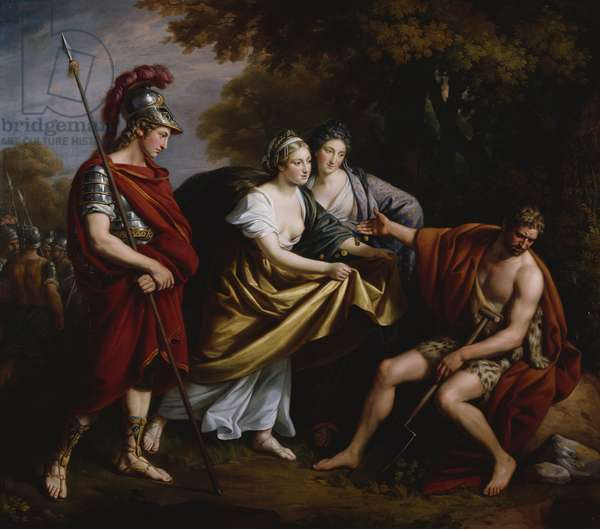 Timon of Athens, c.1765-70 (oil on canvas)