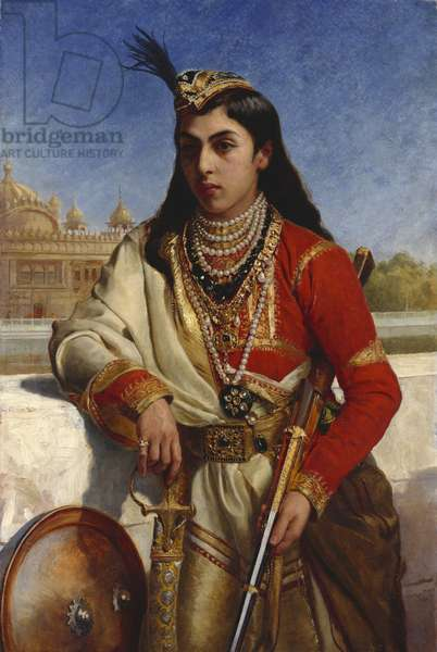 Victor Albert Jay Duleep Singh, 1879 (oil on canvas)