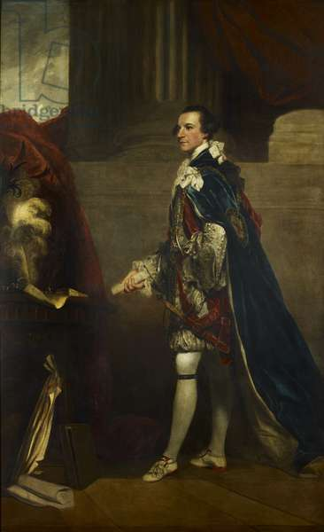 Charles Watson-Wentworth, Second Marquis of Rockingham, c.1768-86 (oil on canvas)