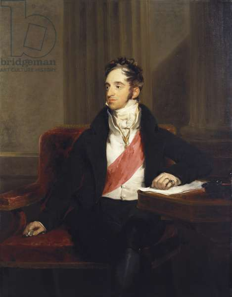 Charles Robert, Count Nesselrode, 1818 (oil on canvas)