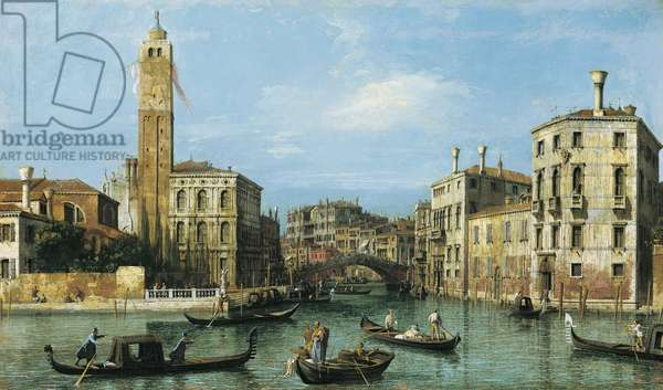 San Geremia and the entrance to the Cannaregio, c.1726-27 (oil on canvas)