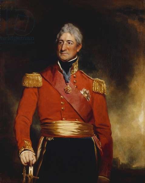 Sir Thomas Picton, c.1830-37 (oil on canvas)