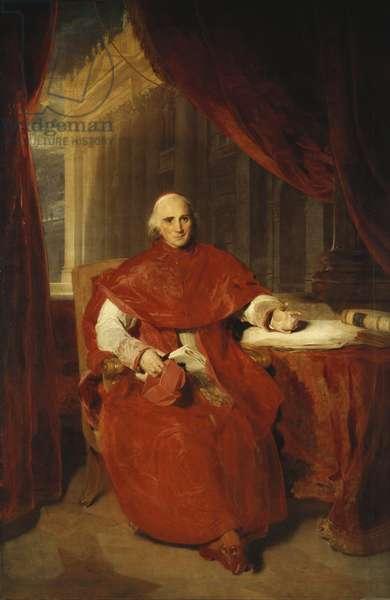 Cardinal Consalvi, 1819 (oil on canvas)