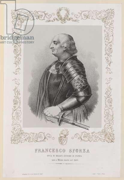 Francesco Sforza (litho)