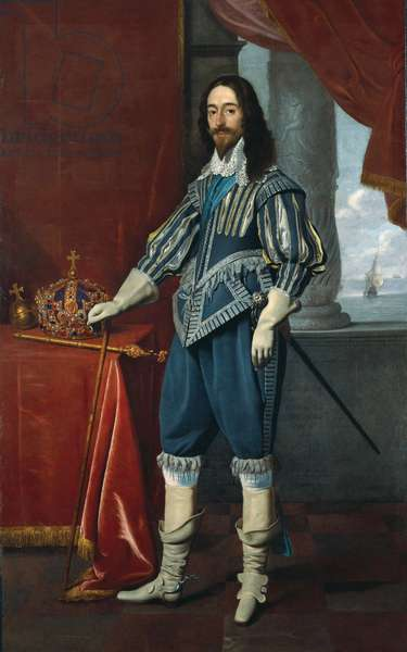 Charles I, 1630 (oil on canvas)