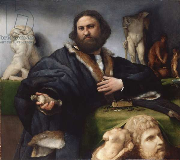 Andrea Odoni, 1527 (oil on canvas)