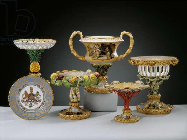 Coronation Service, 1830-37 (bone china)