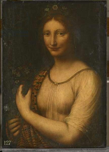 Flora, c.1530 (oil on panel)