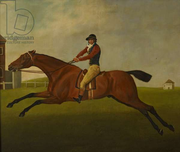 'Baronet' with Samuel Chifney up, 1820 (oil on canvas)