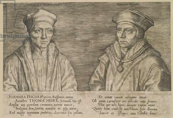 John Fisher and Thomas More c.1550-00 (engraving)
