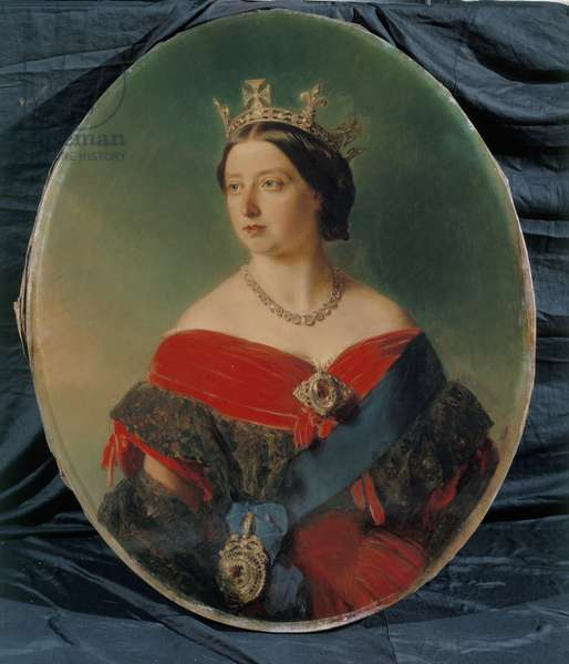 Queen Victoria, 1856 (oil on canvas)