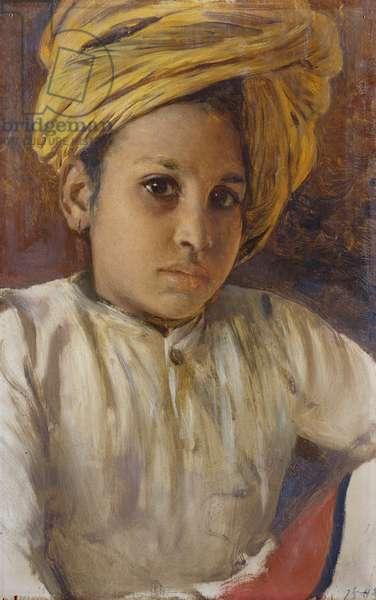 Sunder Singh, 1888 (oil on panel)